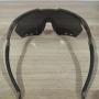 Óculos de Sol HB Shield Compact R Matte Onyx - Lente Prateada