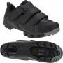 Sapatilha MTB GROOL Cool 3 Velcros - Preto