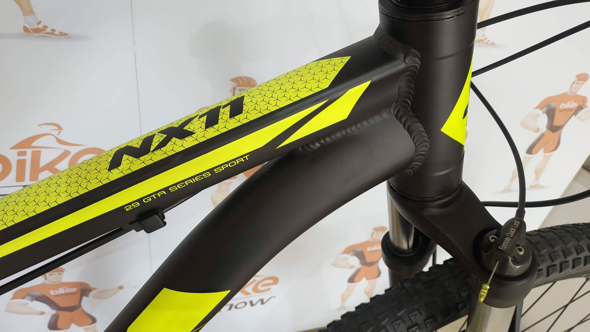 Bicicleta GTA NX11 aro 29 - 12v X-Time RXS - Freio Hidráulico