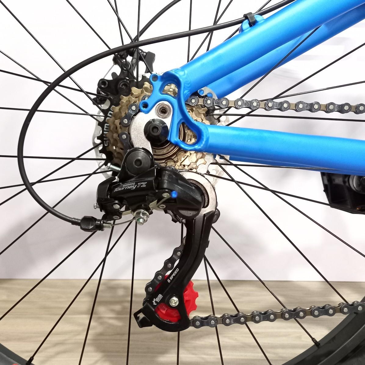Bicicleta ABSOLUTE Bruthus aro 26 - 7v Shimano - Freio a Disco - Suspensão Mode