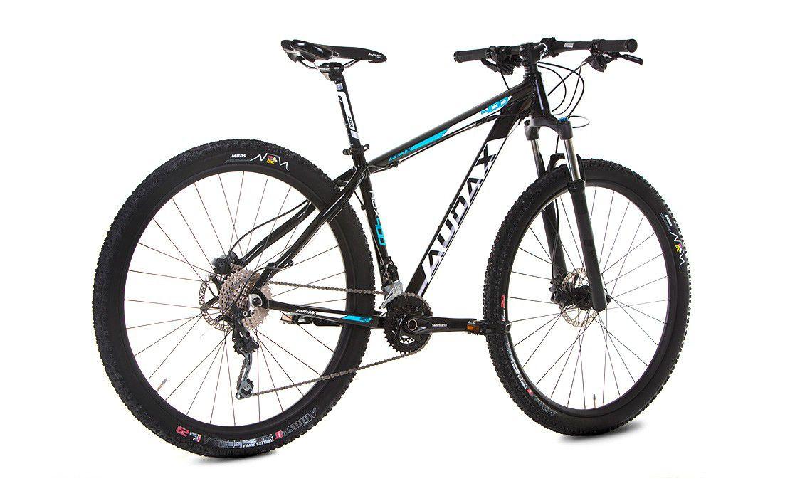 Bicicleta AUDAX ADX 400 aro 29 - Shimano Deore 20v - Freio Hidráulico