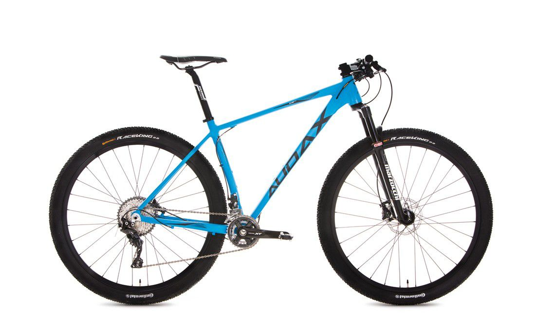 Bicicleta AUDAX Auge 700 aro 29 - Shimano XT 22V - Suspensão Marzocchi LCR 320