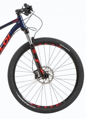 Bicicleta CALOI Elite 2019 - 20V Shimano Deore - Suspensão Rock Shox XC30 a ar + Brindes