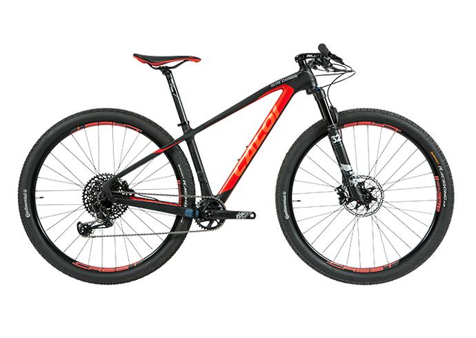 7d4a69afe Bicicleta CALOI Elite Carbon Racing 2019 - 12V SRAM GX Eagle - Freio  Hidráulico - Frete