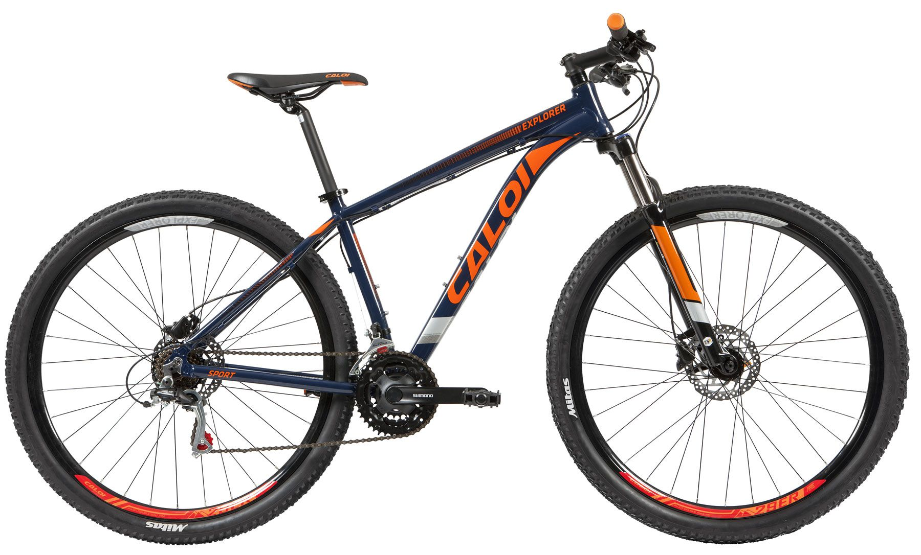 Bicicleta CALOI Explorer Sport aro 29 2019 - 21V Shimano - Freio Hidráulico