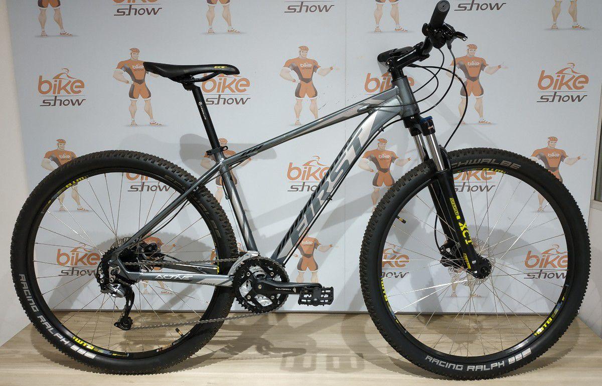 Bicicleta FIRST Active aro 29 - 27v Shimano Alívio/Altus - Freio Tektro Hidráulico - LANÇAMENTO