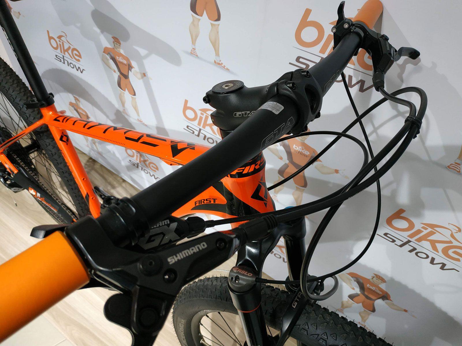 Bicicleta FIRST Athymus aro 29 - 12V Sram GX - Freio Hidráulico - Roda Session
