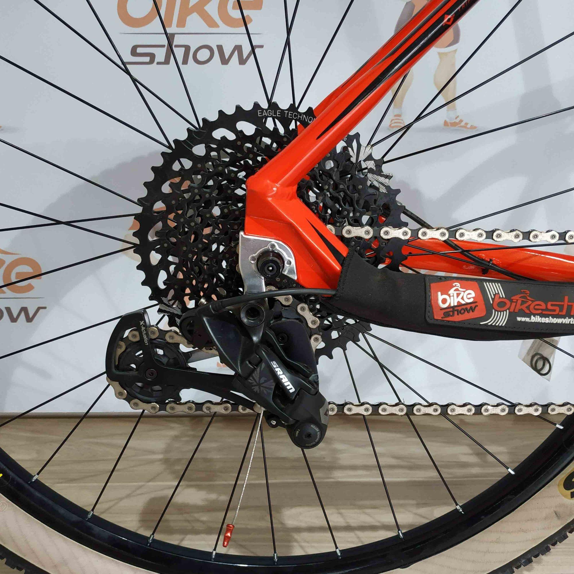 Bicicleta FIRST Athymus aro 29 - 12V Sram GX K7 10/50 dentes - Suspensão GTA a AR - MELHOR CUSTO BENEFÍCIO DA CATEGORIA