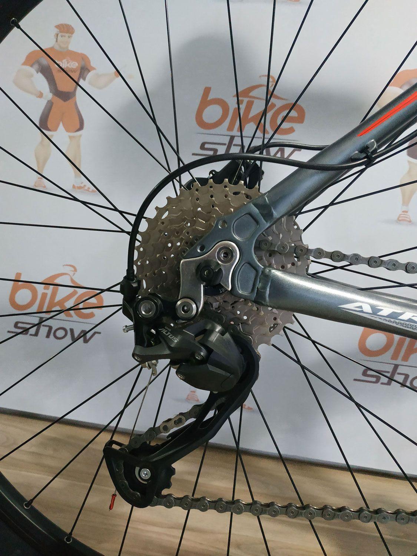 Bicicleta FIRST Atrix aro 29 - 27v Shimano Altus -  Freio Shimano Hidráulico - Suspensão GTA toda em alumínio