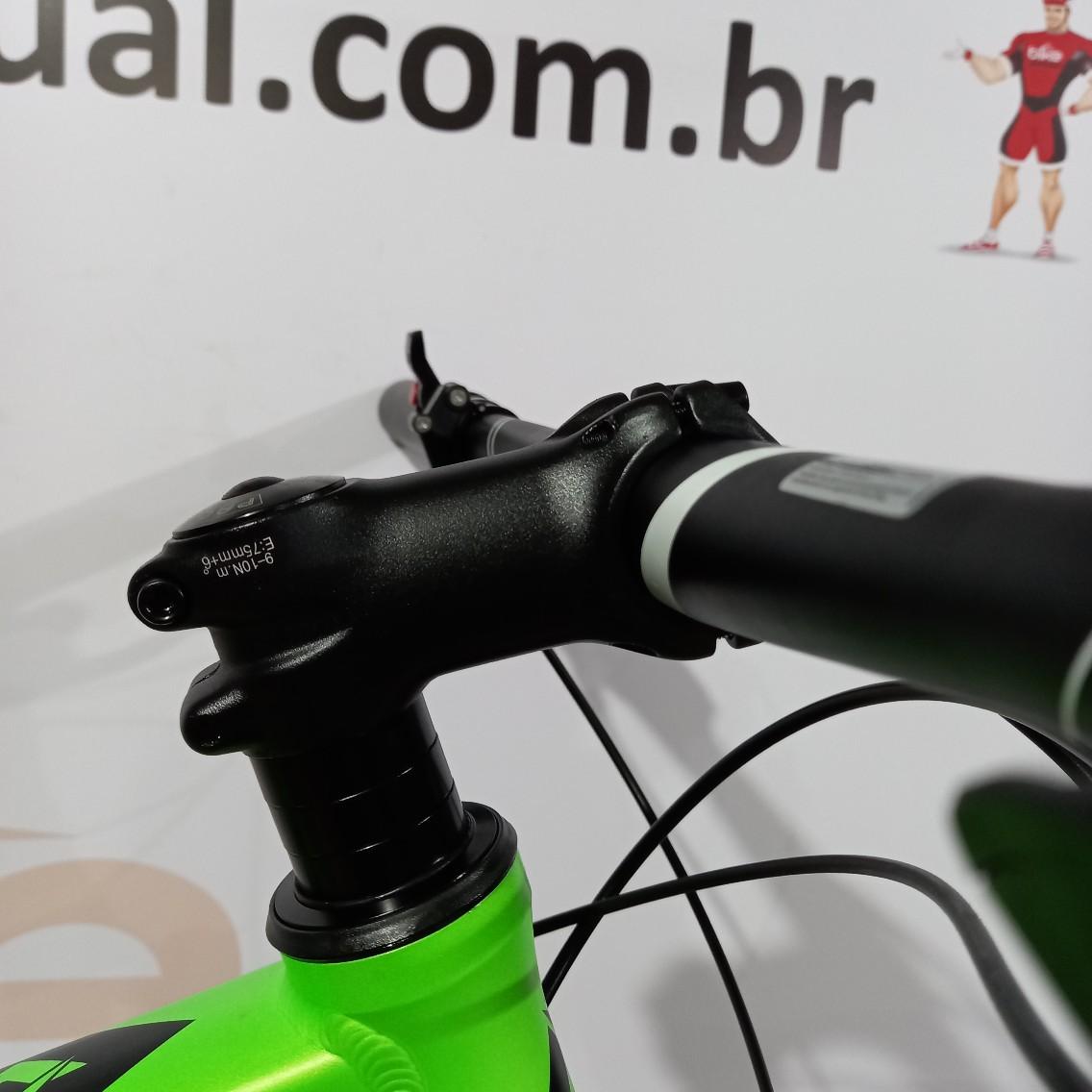 Bicicleta FIRST Lunix aro 29 - 11v Shimano Deore - Suspensão Absolute Prime - Freio Shimano Hidráulico