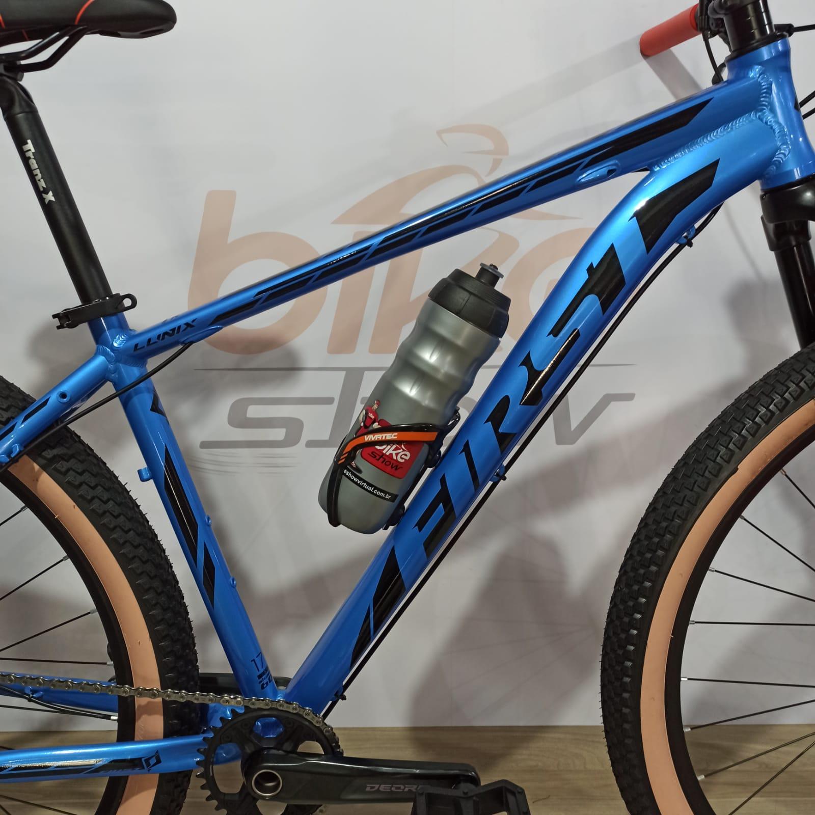 Bicicleta FIRST Lunix aro 29 - 12v Shimano Deore - K7 Shimano 10/51 dentes - Suspensão GTA a Ar Limited Edition