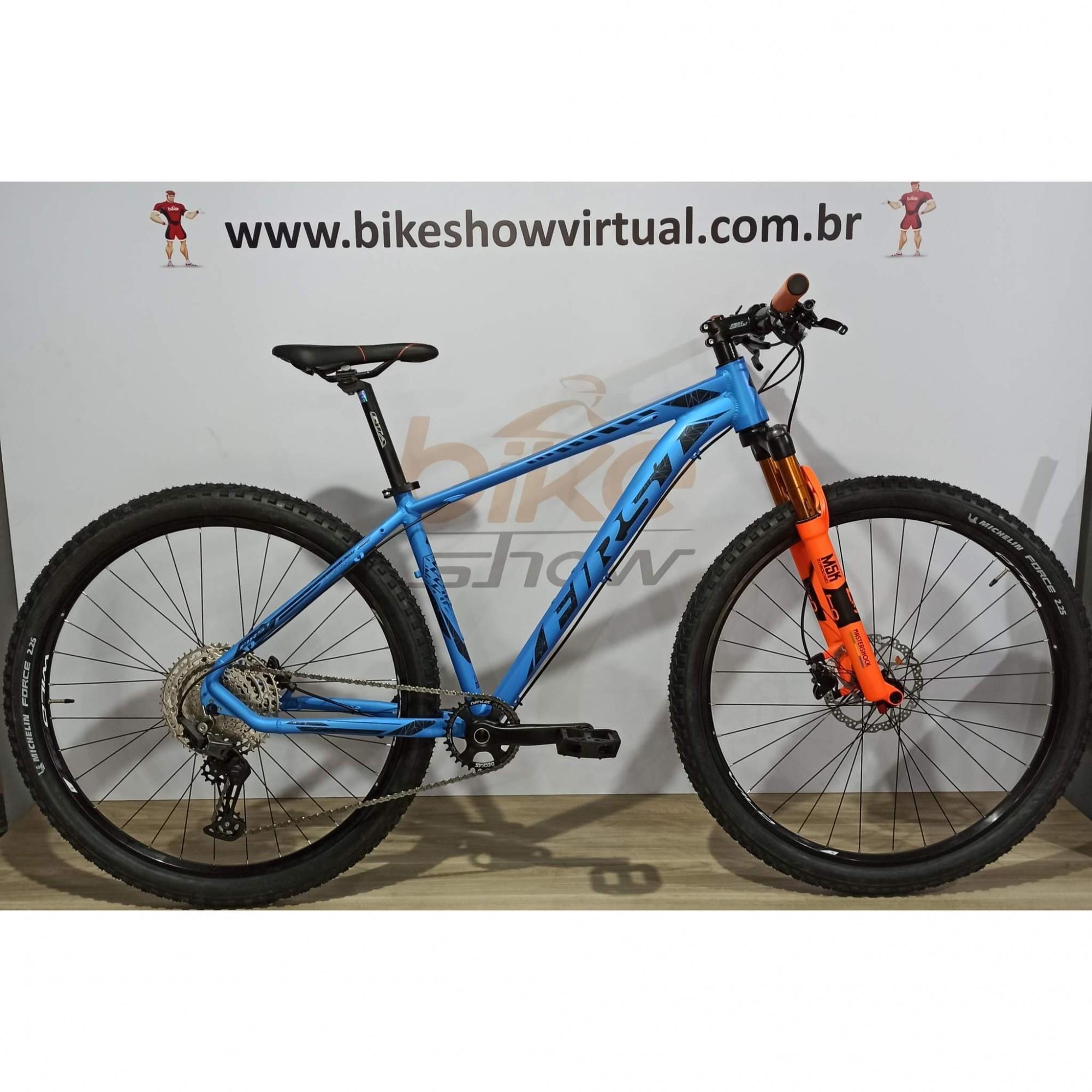 Bicicleta FIRST Lunix aro 29 - 12v Shimano Deore - K7 Shimano 10/51 dentes - Suspensão MasterShock MT-30 a AR