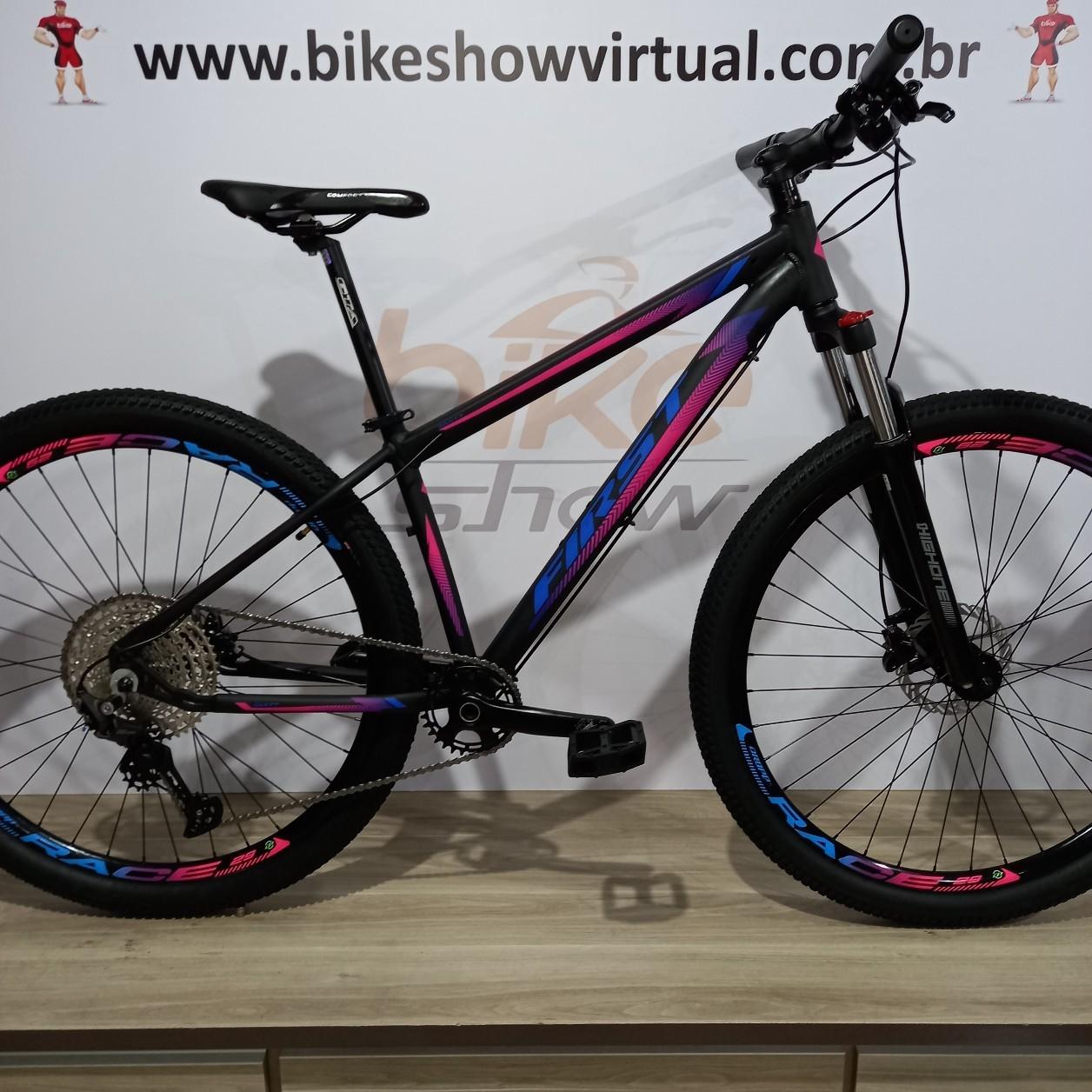 Bicicleta FIRST Smitt aro 29 - 11v Shimano Deore - Freio Shimano Hidráulico - Suspensão High One em alumínio