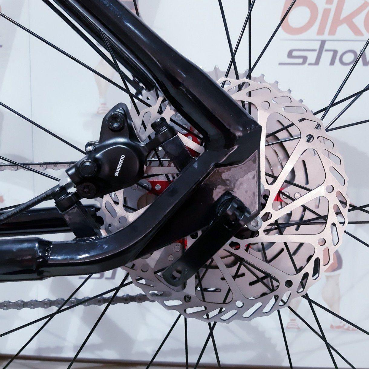 Bicicleta FIRST Smitt aro 29 - 12V Ltwoo - Freio Shimano Hidráulico - Suspensão Trust trava no ombro