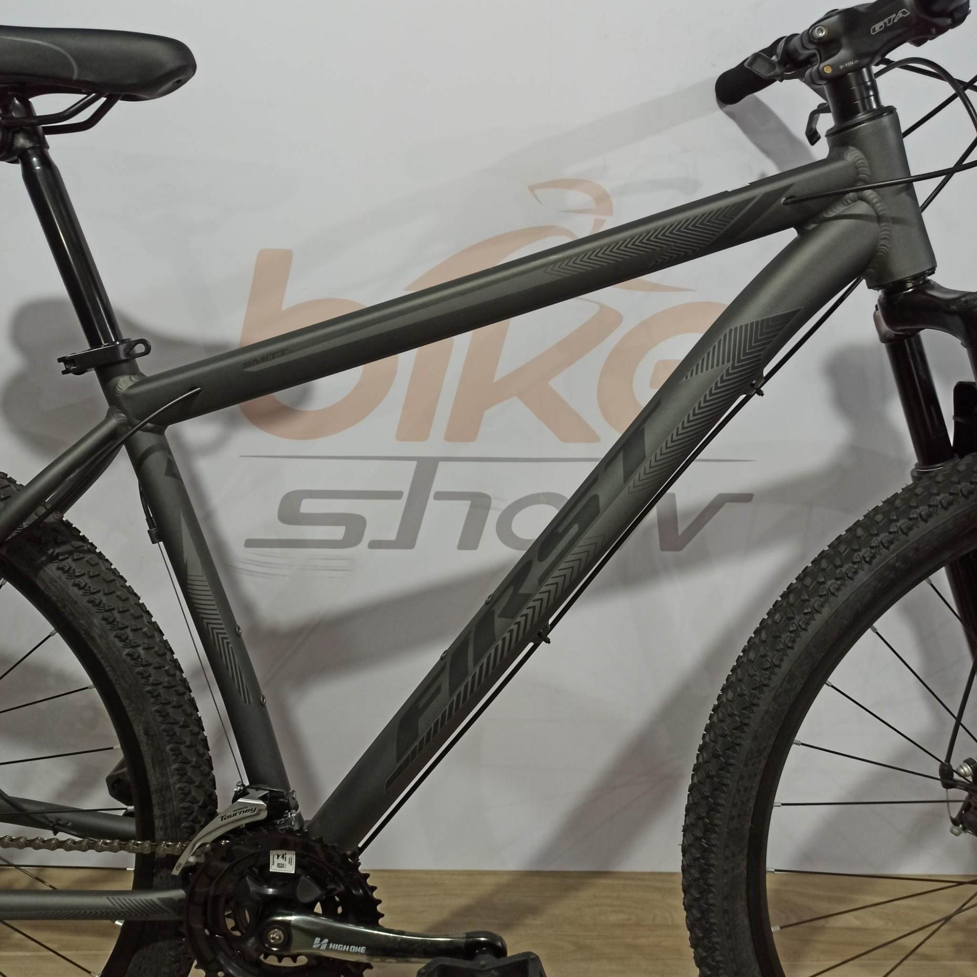 Bicicleta FIRST Smitt aro 29 - 21v MicroShift - Freio a Disco VeloForce