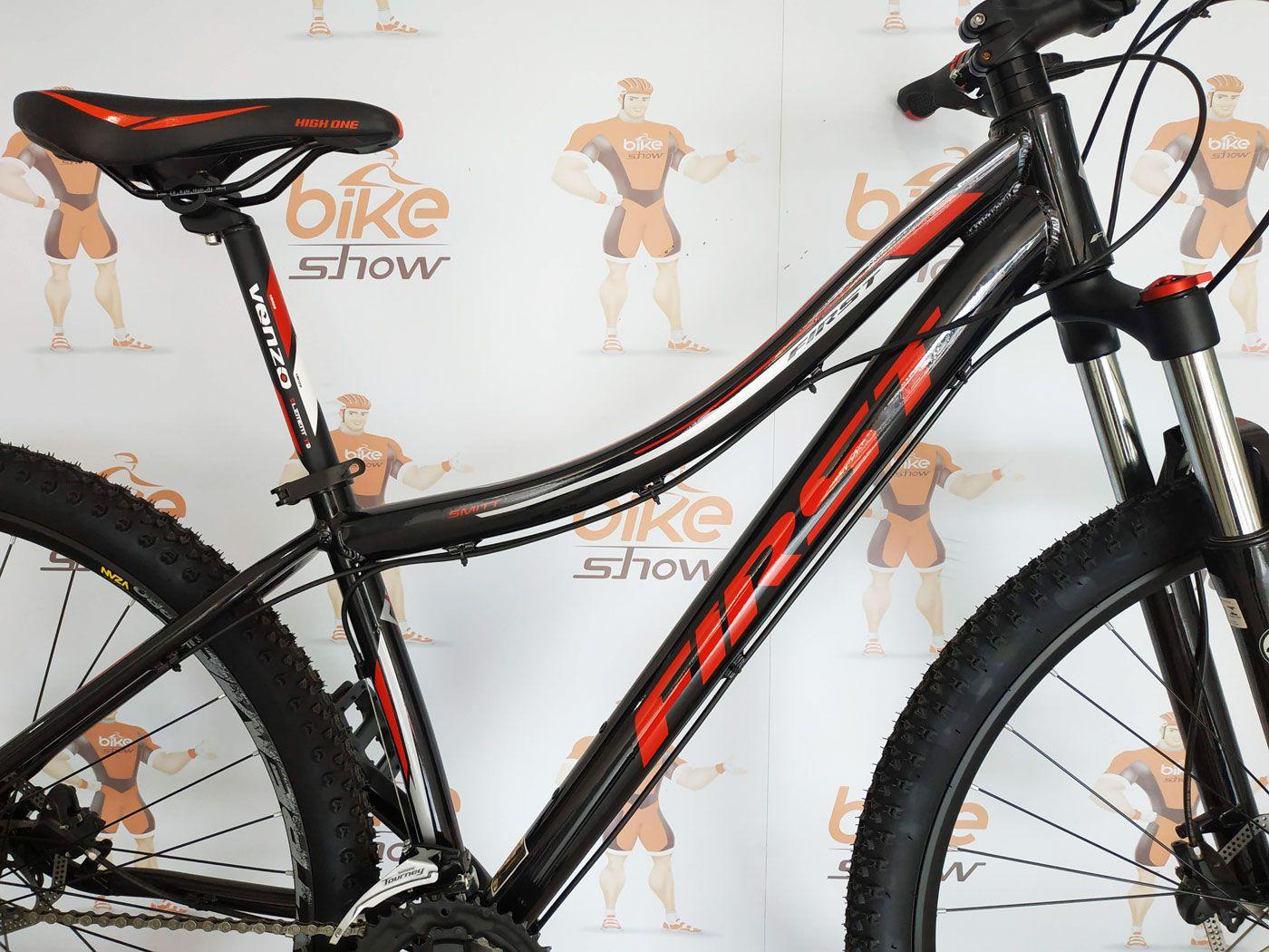 Bicicleta FIRST Smitt aro 29 - 24v Shimano Altus - Freio Shimano Hidráulico