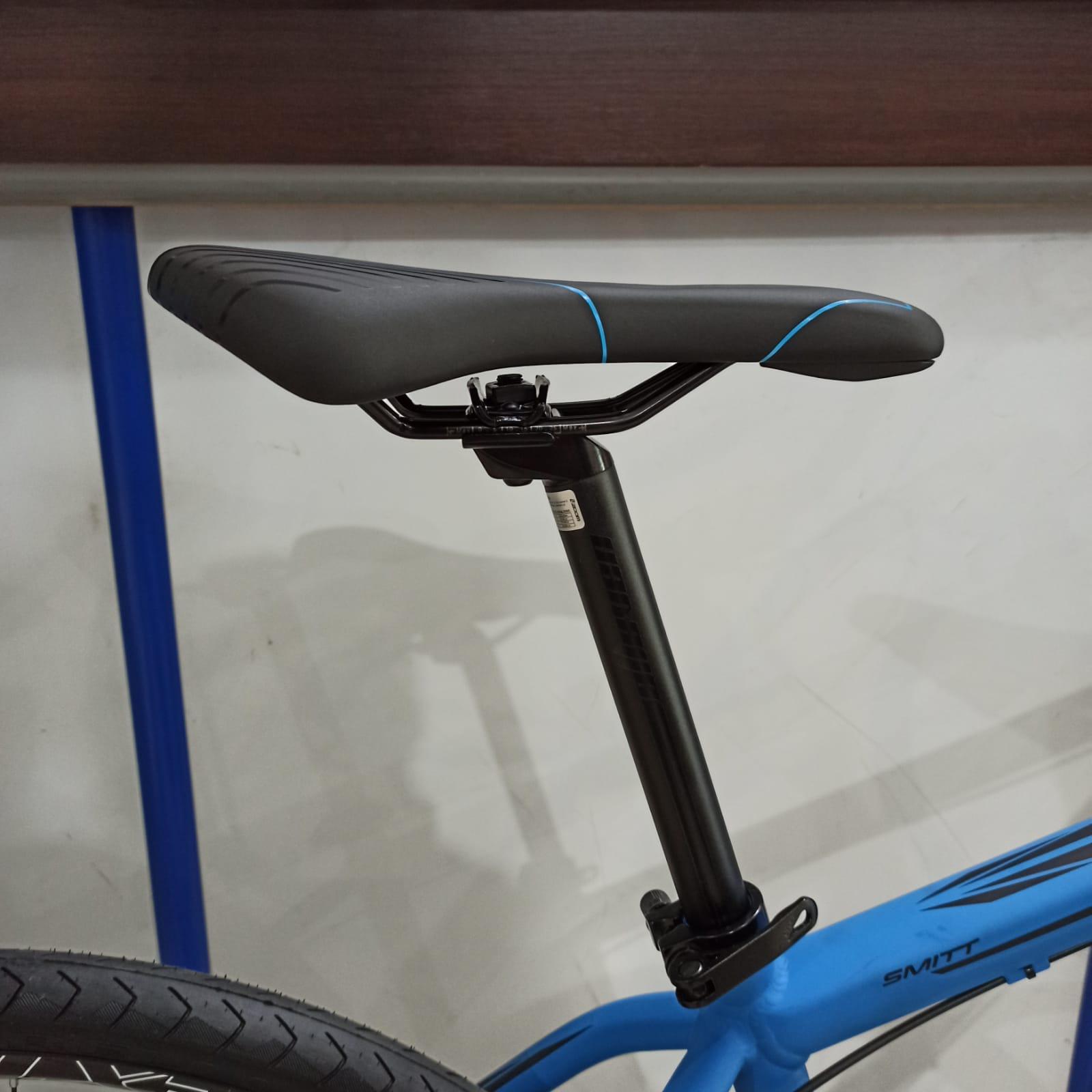 Bicicleta FIRST Smitt aro 29 - 7v Shimano Tourney - Suspensão HLND - Freio a Disco