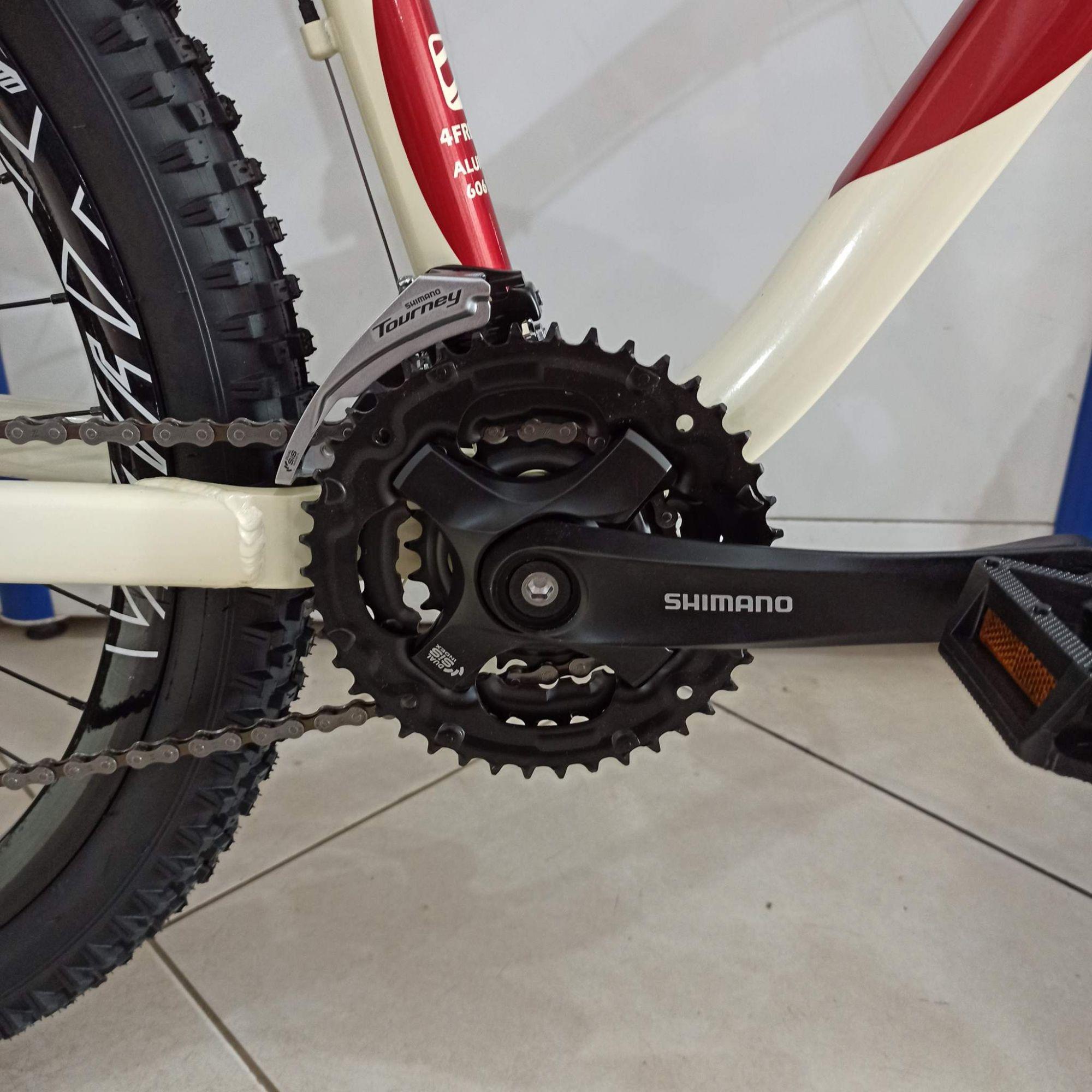 Bicicleta GIOS 4Freaks aro 26 - 21v Shimano - Freio Hidráulico - Suspensão VOOX 120 mm de curso