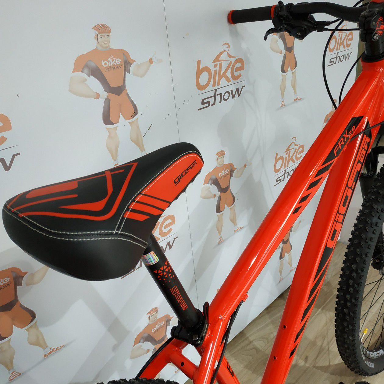 Bicicleta GIOS FRX aro 29 Freeride - 24v GTA Alumínio - Freio GTA Hidráulico - Suspensão MODE trava no ombro