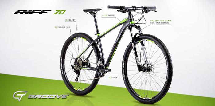 Bicicleta GROOVE Riff 70 aro 29 - Shimano SLX 22v