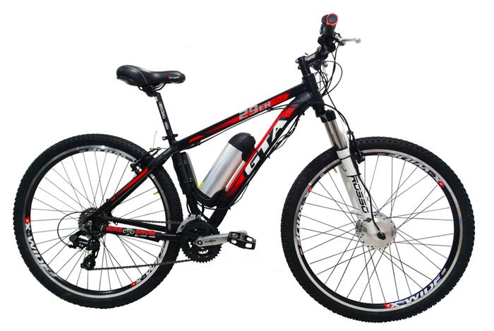 Bicicleta GTA MX9 aro 29 - KIT ELÉTRICO DE 350 WATTS - Shimano Tourney 24v