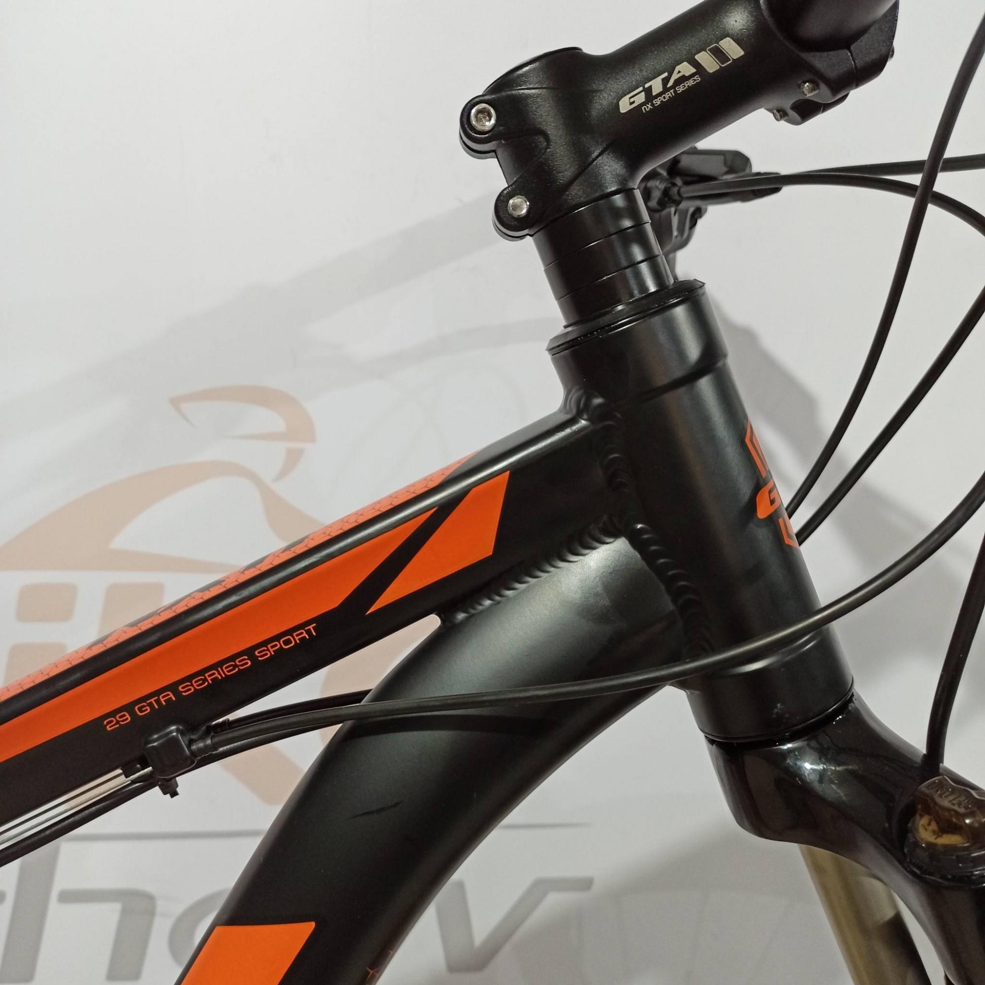 Bicicleta GTA NX11 aro 29 - 21v GTA - Freio GTA Hidráulico - Suspensão VORTEX