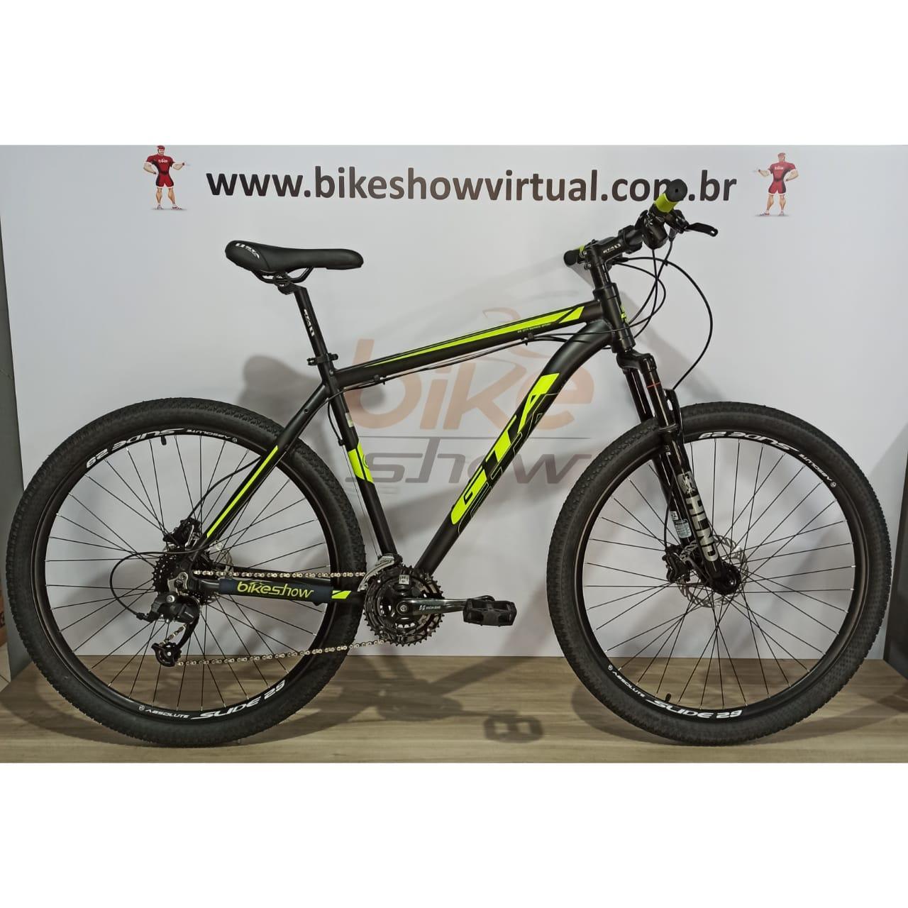 Bicicleta GTA NX11 aro 29 - 24v Microshift - Freio GTA Hidráulico - Suspensão HLND
