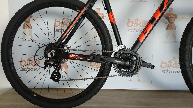 Bicicleta GTA NX11 aro 29 - 24v Shimano - Freio Pro V-tec Hidráulico - Suspensão GTA toda em alumínio