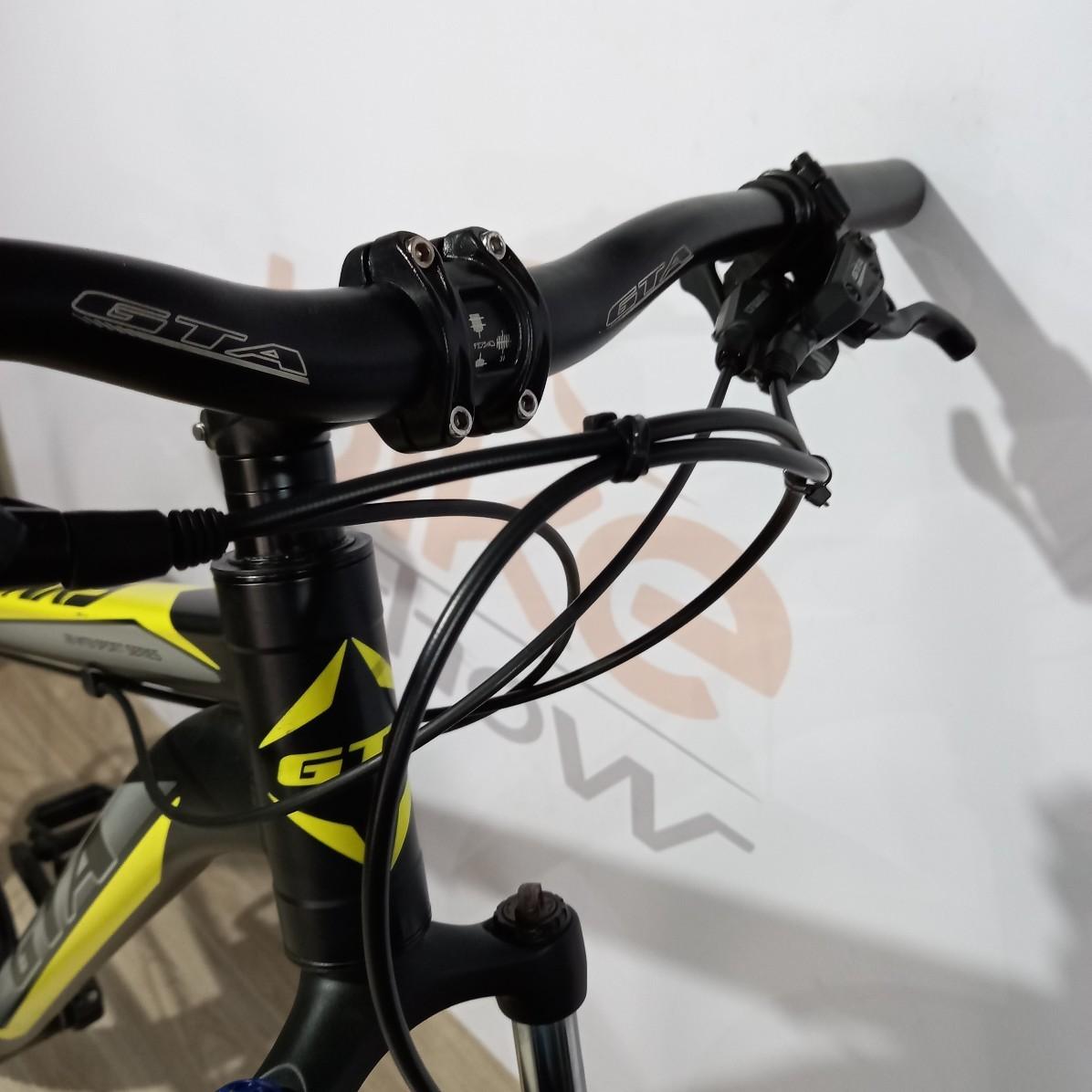 Bicicleta GTA NX9 aro 29 - 18V LTWOO - Freio Hidráulico - Suspensão GTA em alumínio