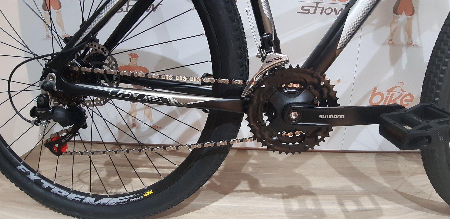 Bicicleta GTA NX9 aro 29 - 21v Shimano Tourney - Freio a Disco Mecânico