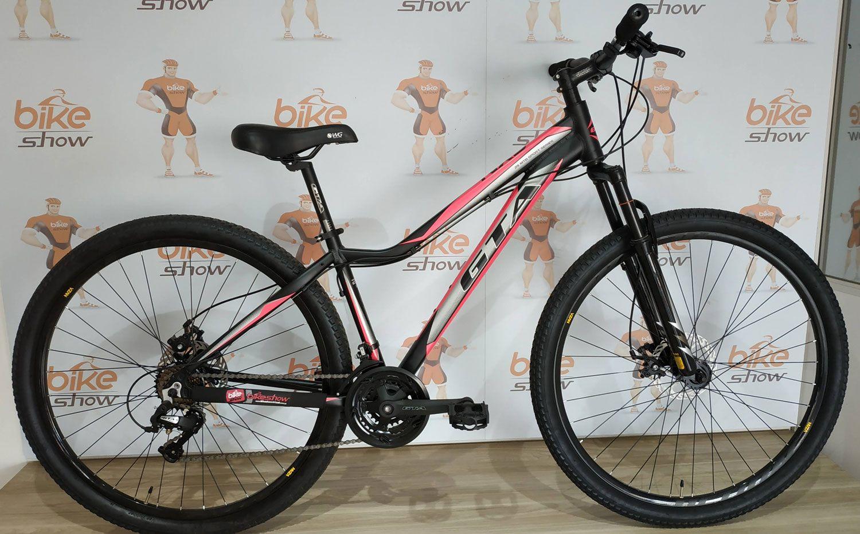 Bicicleta GTA NX9 aro 29 - 21v Sunrun - Freio a Disco - Rosa