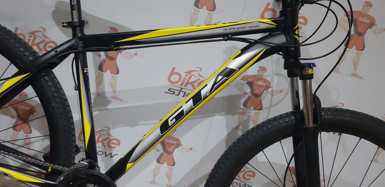 Bicicleta GTA NX9 aro 29 - 27v GTA com K7 40 dentes - Freio Hidráulico