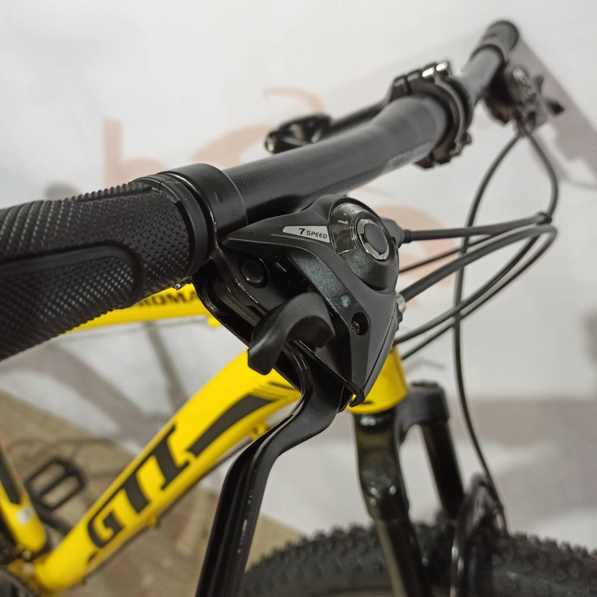 Bicicleta GTI Roma aro 29 - 21v GTA - Freio a Disco VeloForce - Suspensão Mode