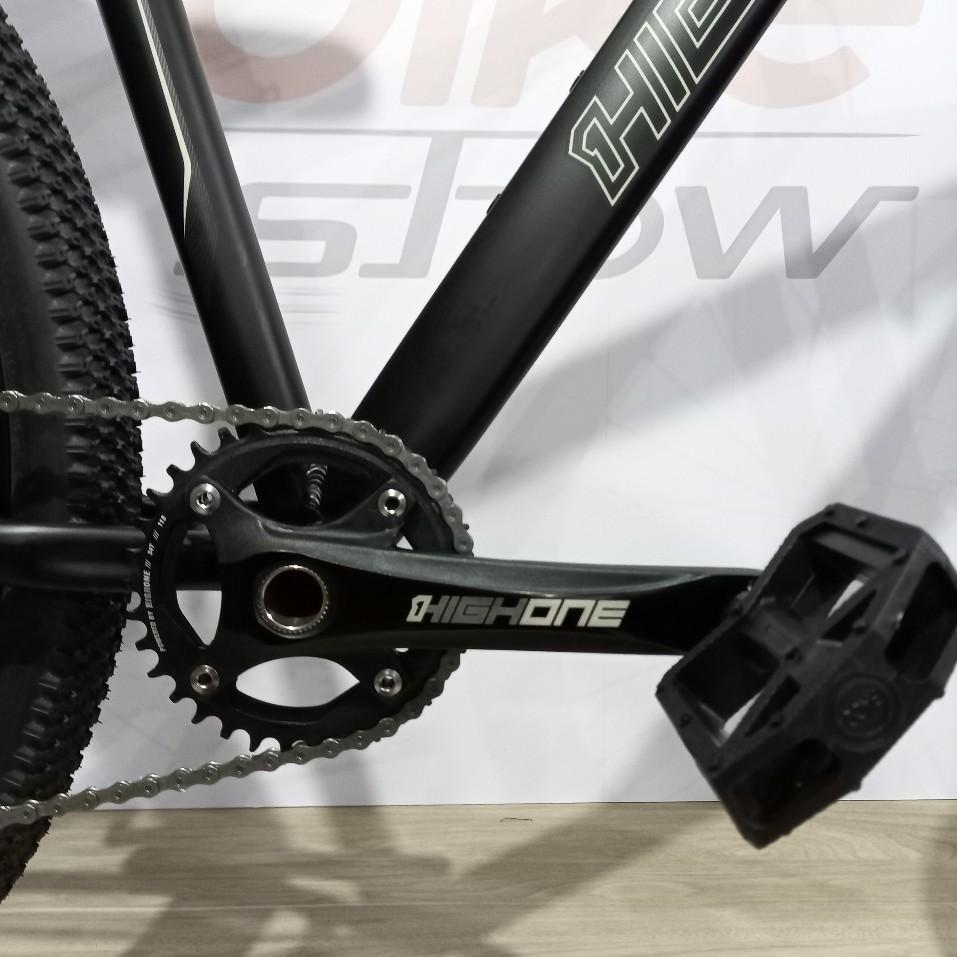Bicicleta HIGH ONE Neo aro 29 - 12v LTWOO - Freio Shimano Hidráulico - Suspensão HIGH ONE a AR