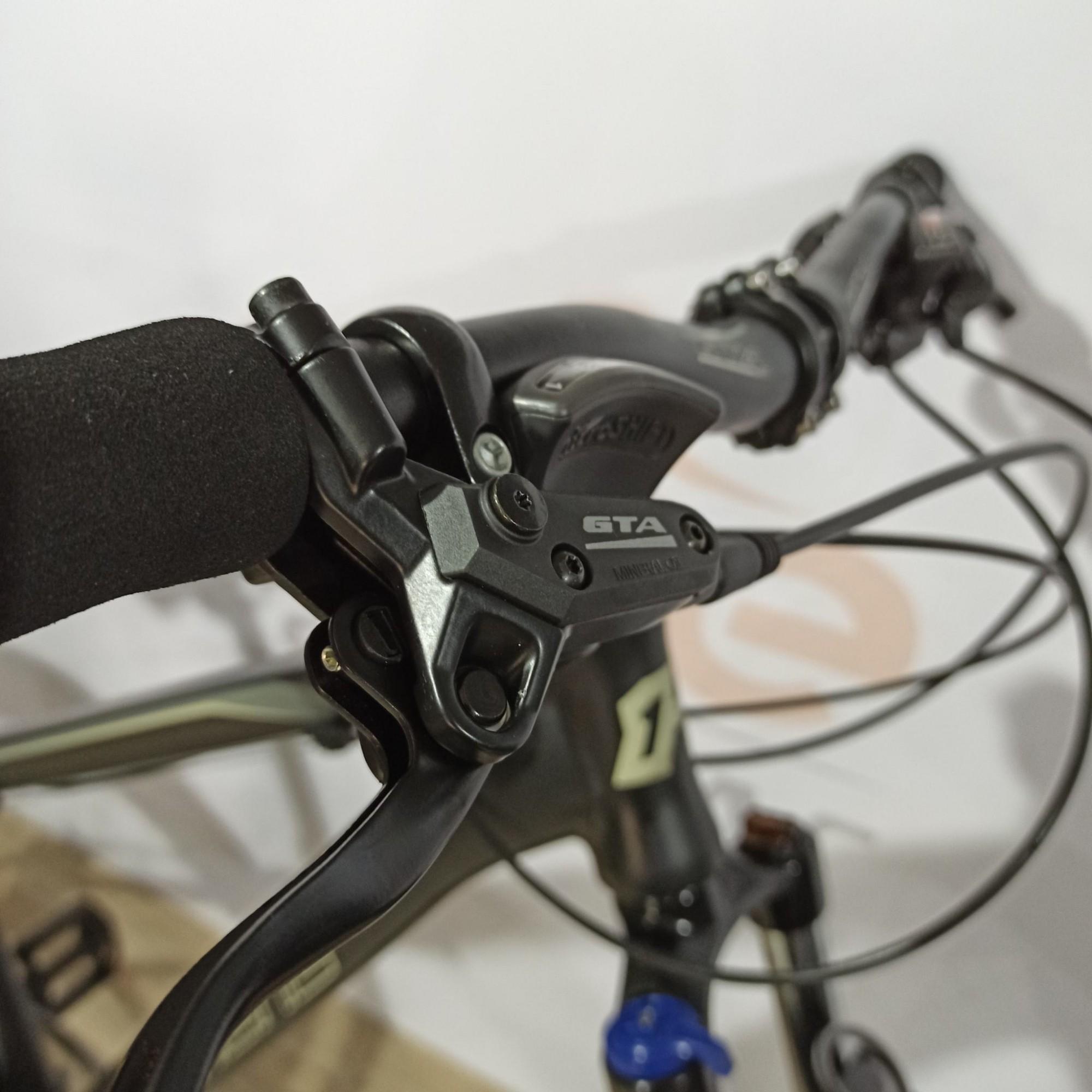 Bicicleta HIGH ONE Neo aro 29 - 24v MicroShift - Freio GTA Hidráulico - Suspensão BikeMax c/ trava no ombro