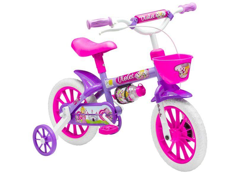 Bicicleta NATHOR aro 12 - Violet