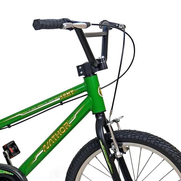 Bicicleta NATHOR aro 20 - Army cor Verde Militar