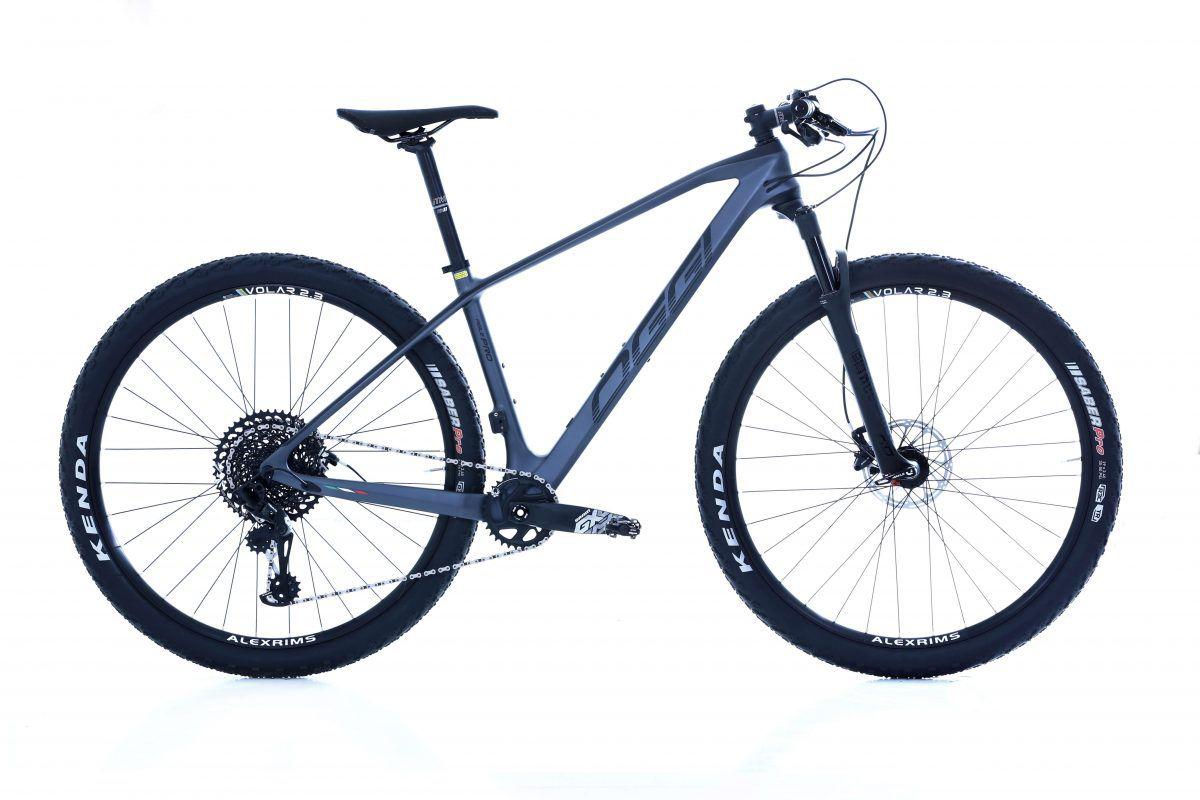 Bicicleta OGGI Agile PRO GX - Preto/Grafite