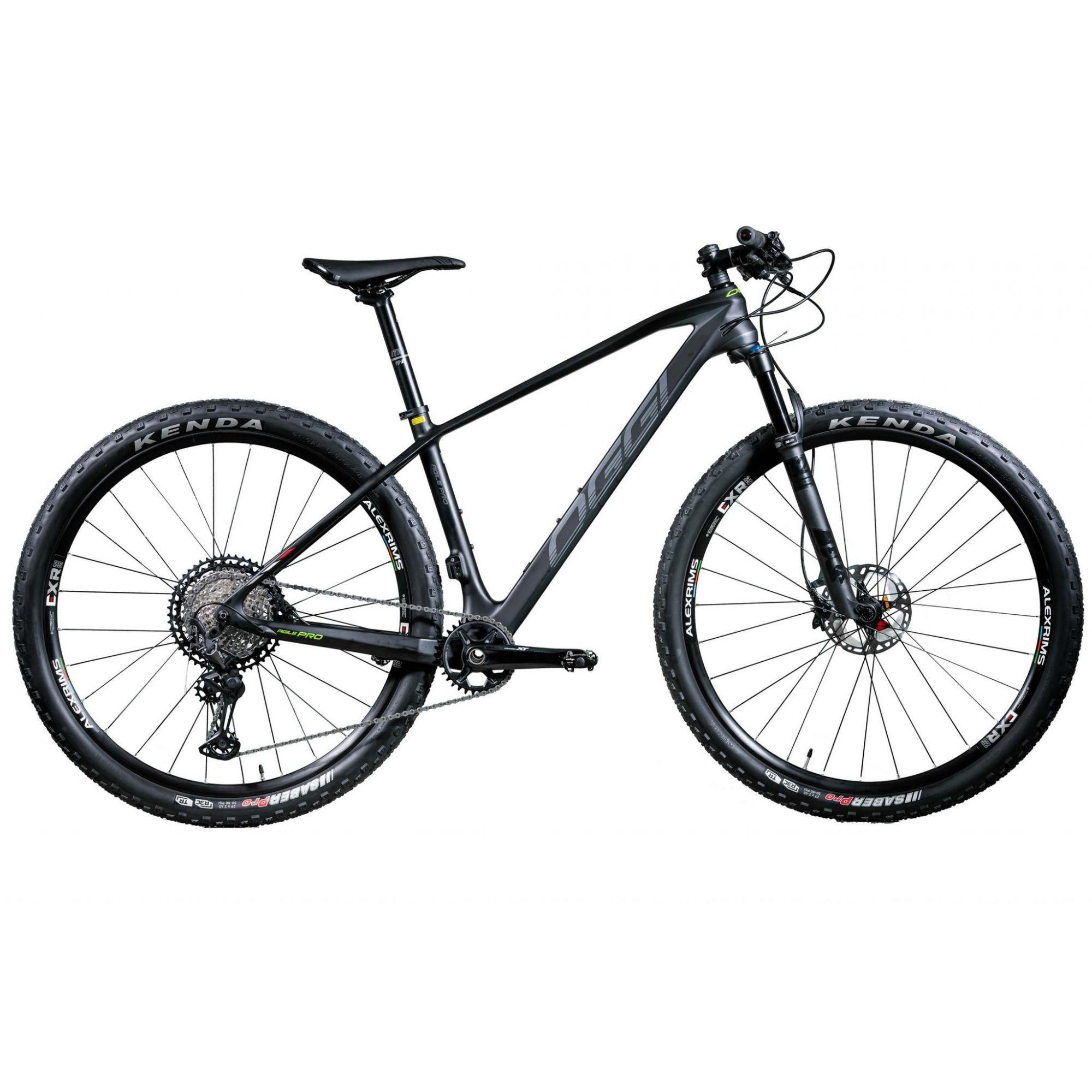 Bicicleta OGGI Agile PRO XT aro 29 2020 - 12V Shimano XT - Suspensão FOX 32A Float SC - Preto/Grafite
