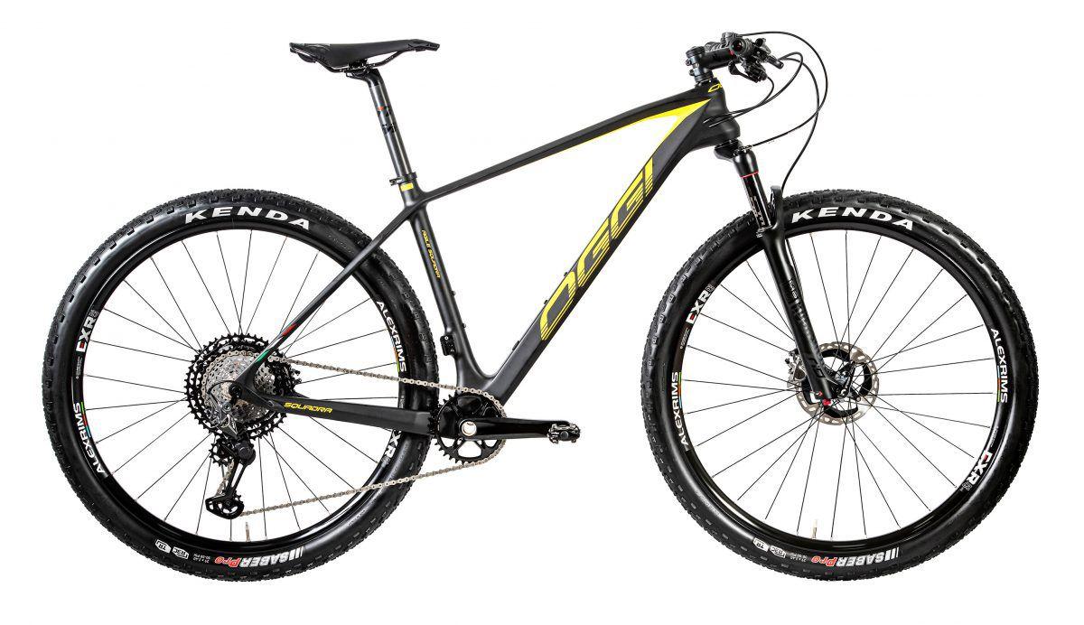 Bicicleta OGGI Agile Squadra 2020 - Grafite/Amarelo