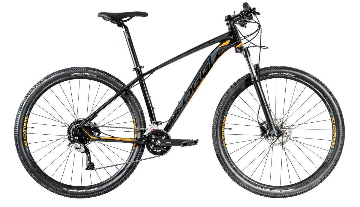 Bicicleta OGGI Big Wheel 7.1 2020 Preto/Grafite/Laranja