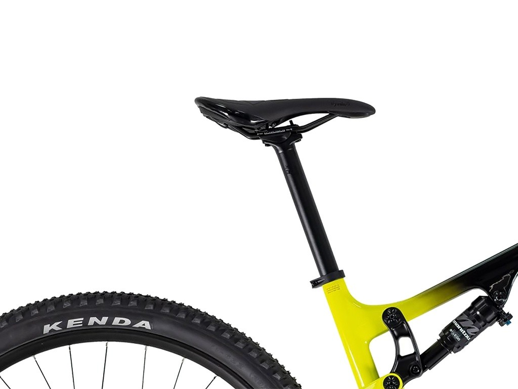 Bicicleta OGGI Cattura Sport 2021 aro 29 - 12V Shimano Deore - Freio Shimano Hidráulico - Suspensão Manitou - Preto/Amarela