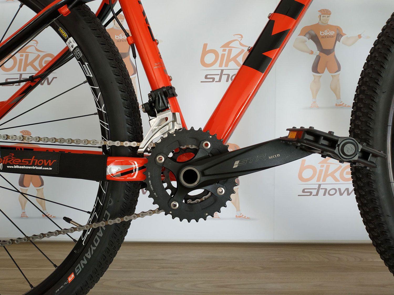 Bicicleta RAVA Cave aro 29 - 20v Shimano Deore - Freio Shimano Hidráulico - Suspensão GTA RX Black Air