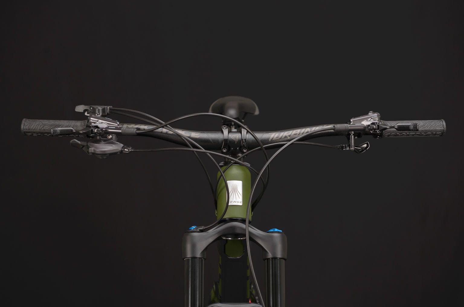 Bicicleta SENSE Exalt LT 2020 - 12v Shimano XT - Verde Militar