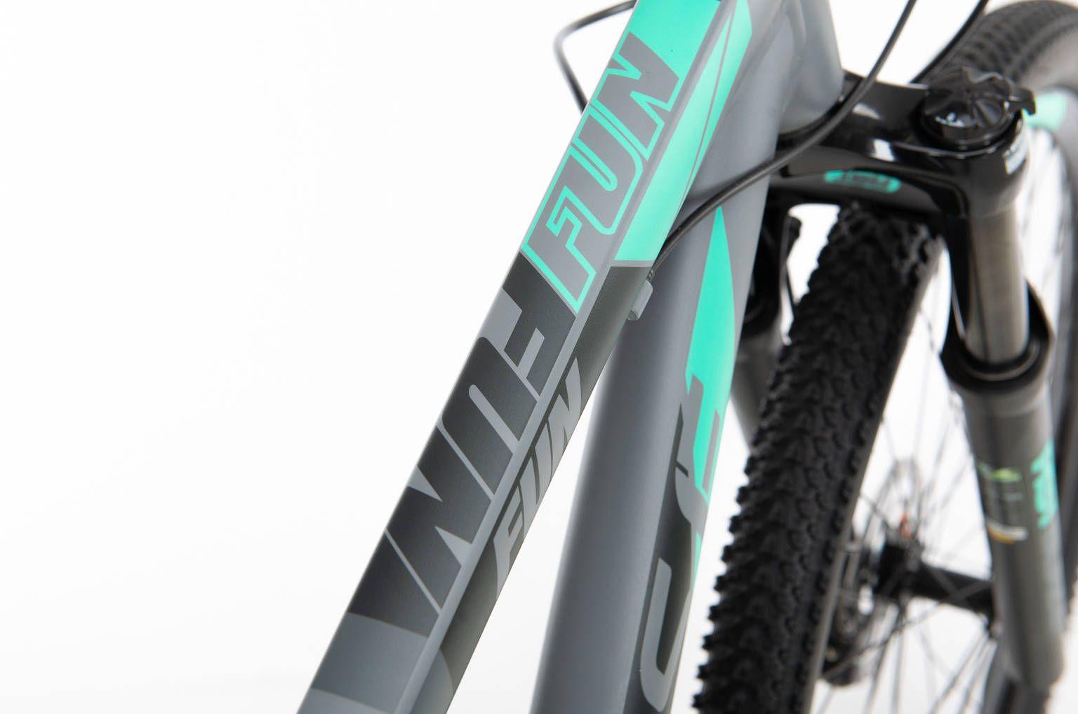Bicicleta SENSE Fun 2020 - 24v Shimano Acera - Cinza/Acqua