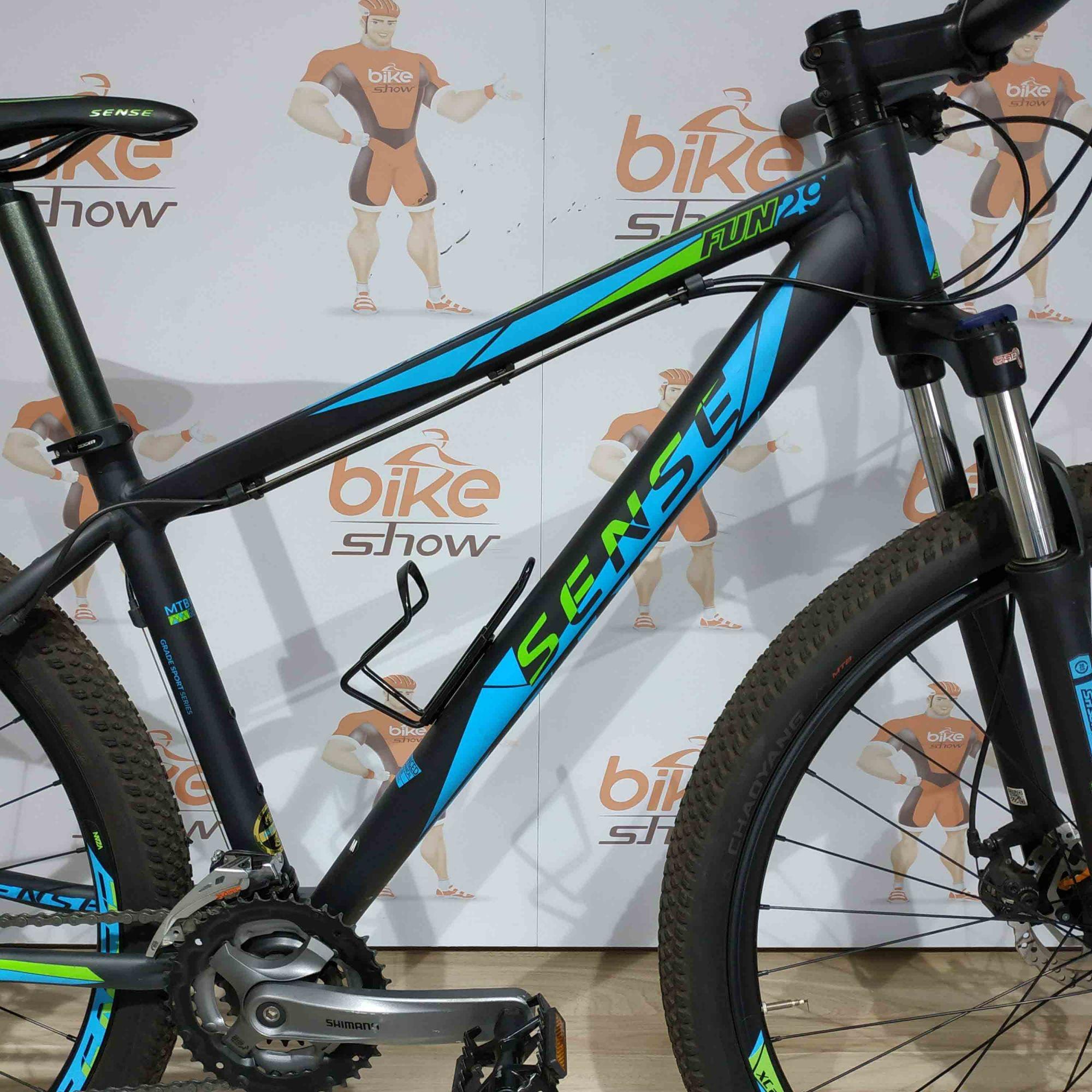 Bicicleta SENSE Fun 2018 aro 29 SEMINOVA - 24v Shimano Altus - Muito conservada
