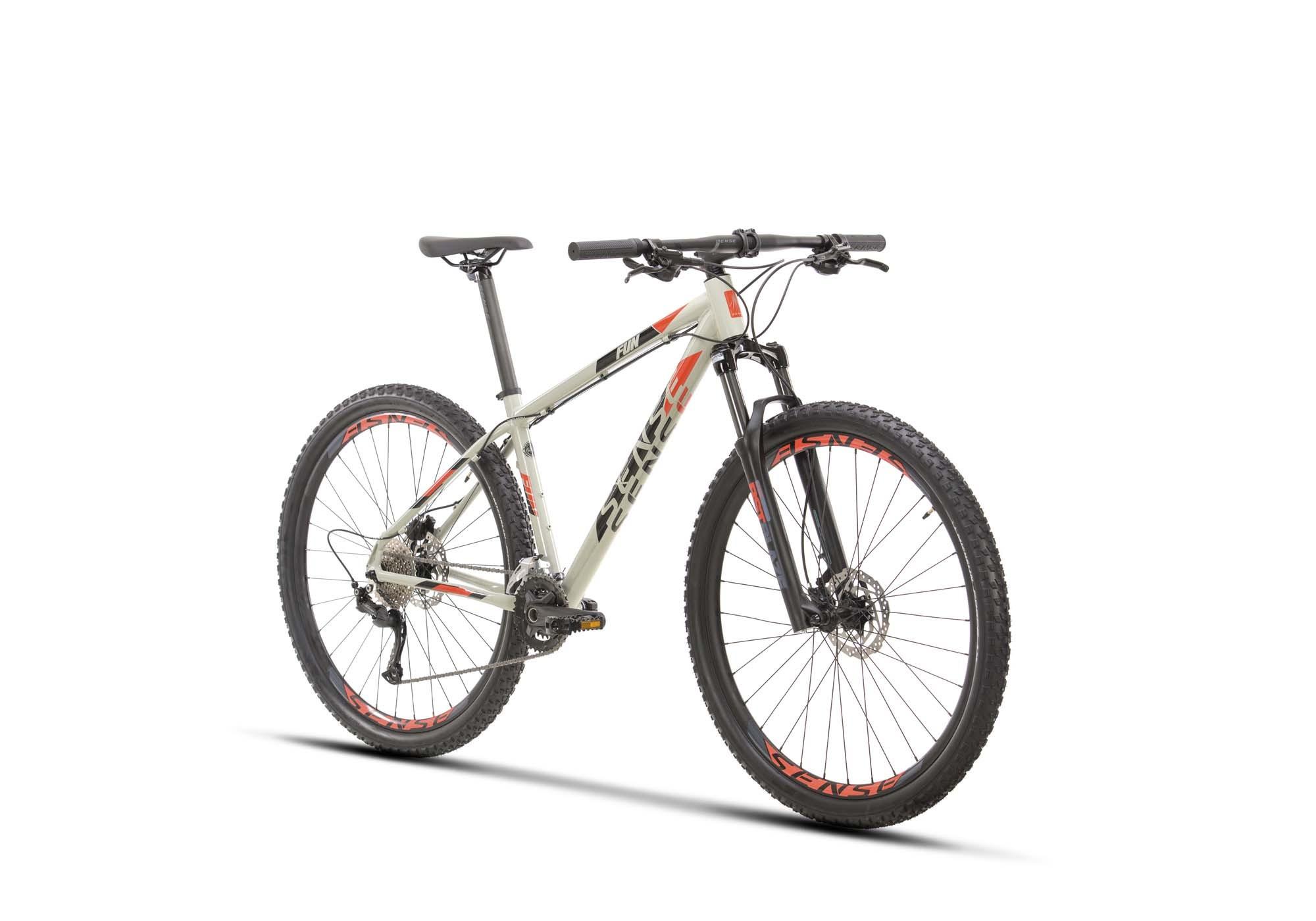 Bicicleta SENSE Fun Evo 2021 - 18v Shimano Alivio - Freio Hidráulico