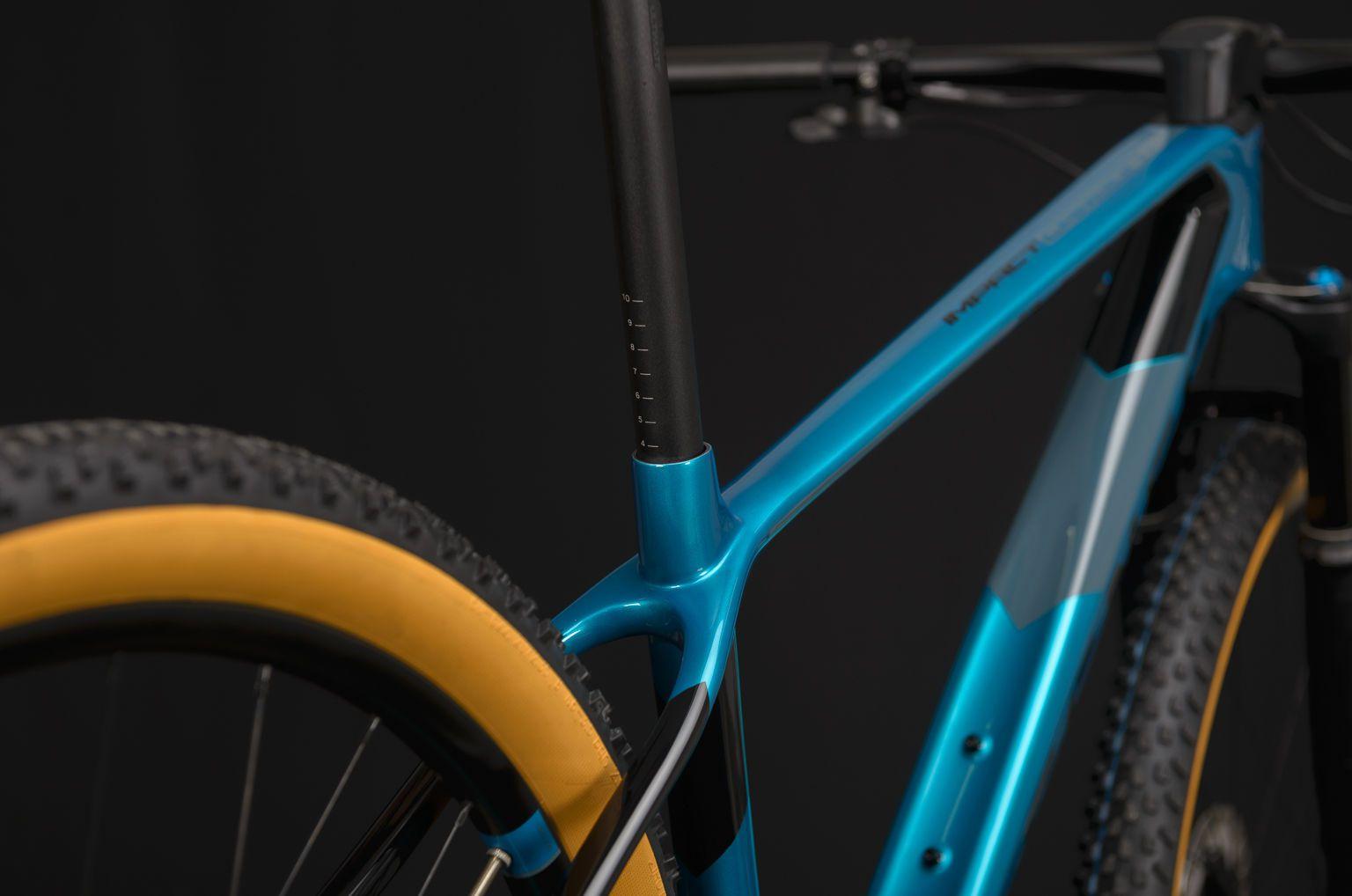 Bicicleta SENSE Impact Carbon Evo 2020 - Preto/Azul