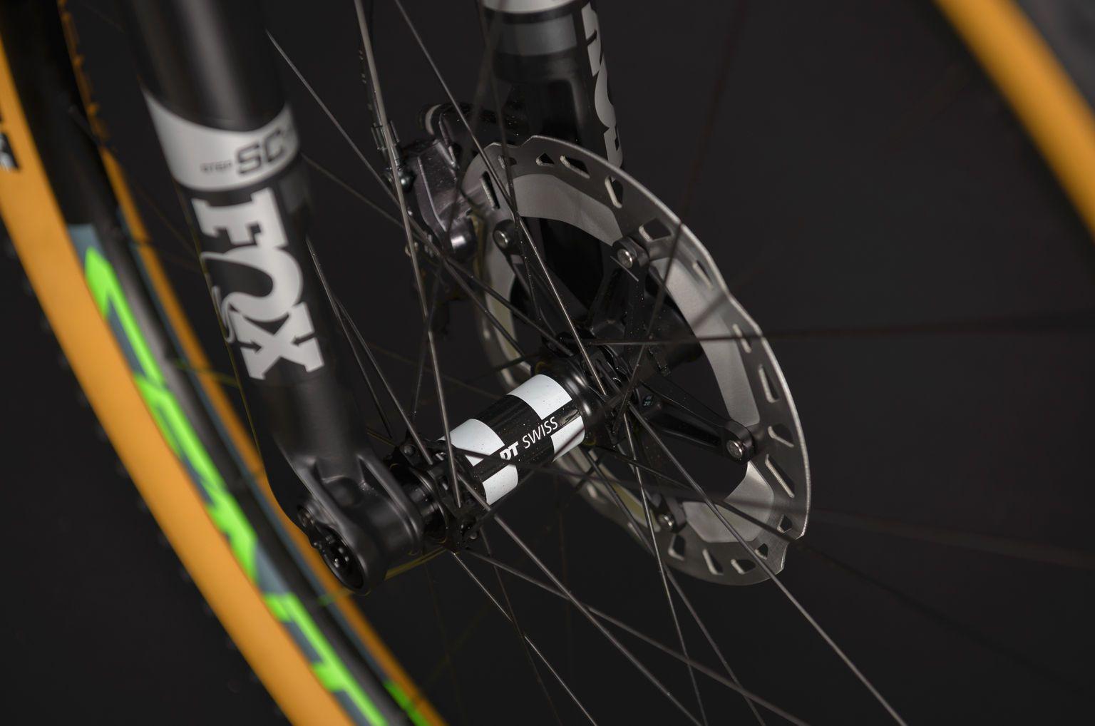 Bicicleta SENSE Impact Carbon Evo 2020 - Verde Neon/Chumbo