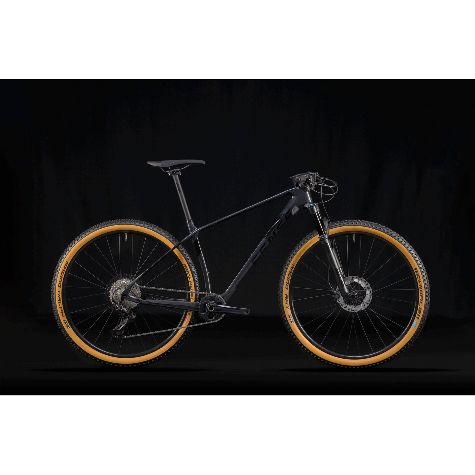 Bicicleta SENSE Impact Carbon Evo 2021 - 12v Shimano XT - Suspensão Fox Float 32 Performance 100mm - Cinza/Preto